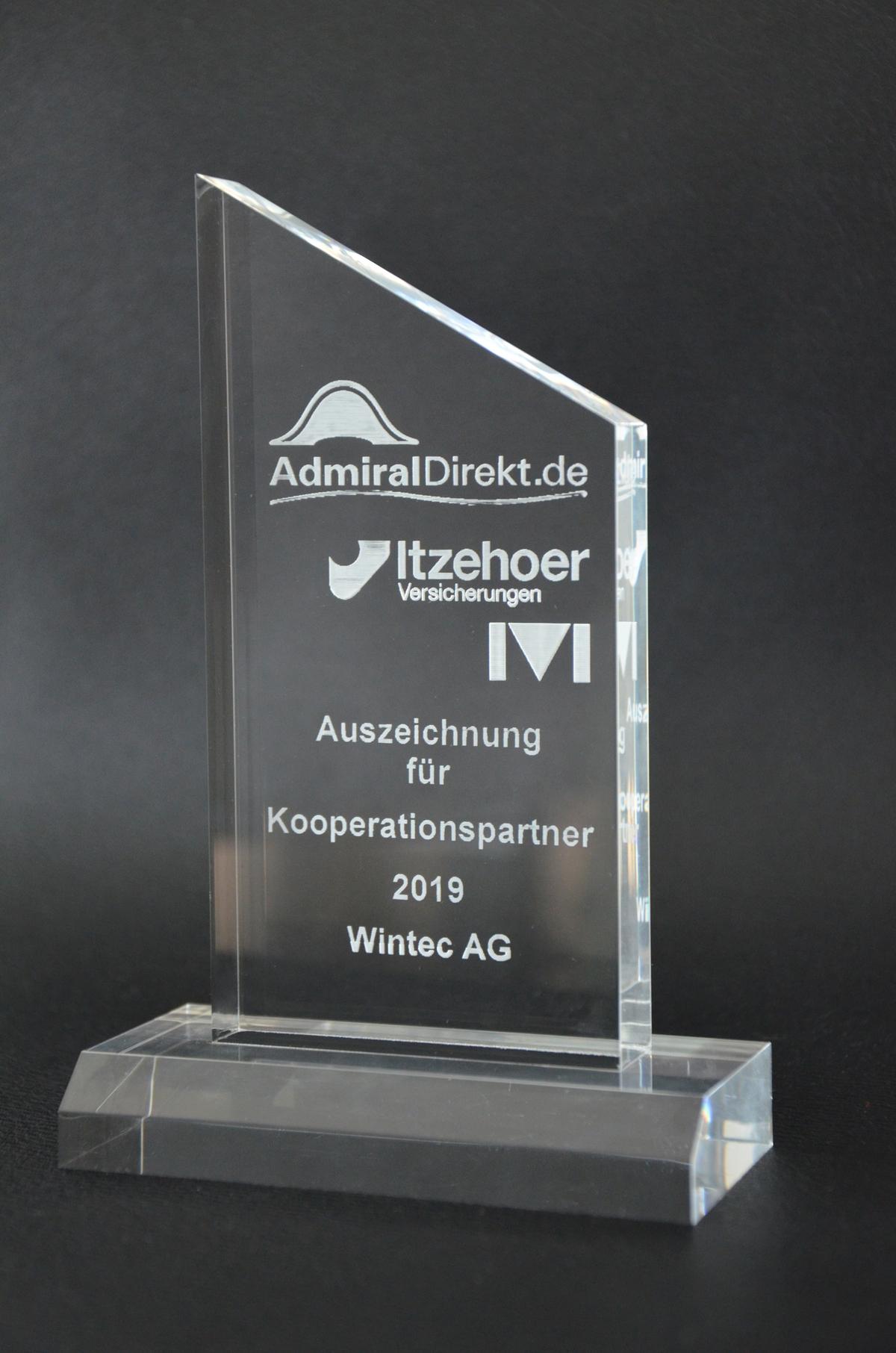 Kooperationspartner Des Jahres 2019 Wintec Autoglas Erhalt