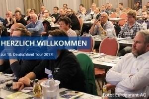 Die Termine der Eurogarant AutoService AG Deutschland-Tour
