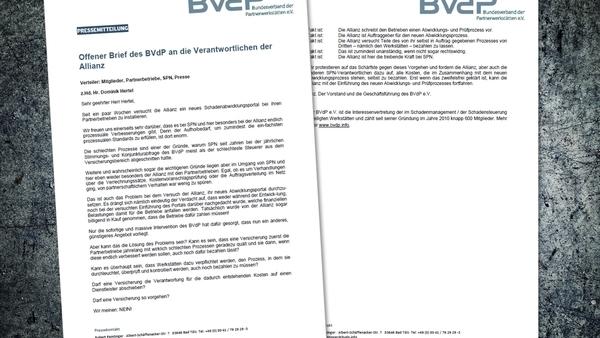 Dokumentation:  Der offene Brief des BVdP