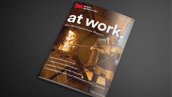 Neues 3M Arbeitsschutzmagazin zum Download